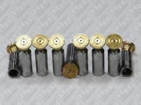 Комплект поршней (9шт.) для экскаватор гусеничный DAEWOO-DOOSAN S330LC-V (715583A, 129871, 113698A)