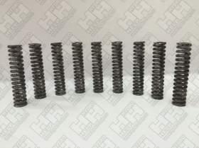 Комплект пружинок (9шт.) для гусеничный экскаватор HITACHI ZX450 (0451016)