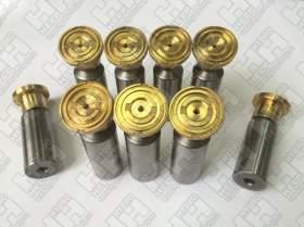 Комплект поршней (9шт.) для колесный экскаватор HYUNDAI R140W-9 (XJBN-01278, XJBN-01572)