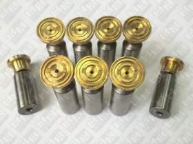 Комплект поршней (9шт.) для гусеничный экскаватор HYUNDAI R300LC-7 (XJBN-00947, XJBN-00946, XJBN-00934)