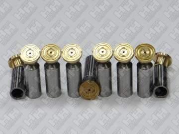 Комплект поршней (9шт.) для экскаватор гусеничный HYUNDAI R360LC-7 (XJBN-00566, XJBN-00565)