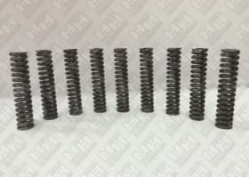 Комплект пружинок (9шт.) для экскаватор гусеничный JCB JS240 (LSP0109)