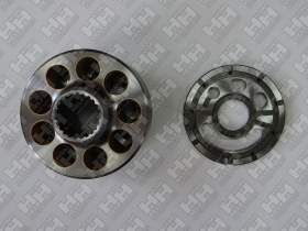 Блок поршней c распределительной плитой для гусеничный экскаватор KOMATSU PC200-7 (708-2L-06340, 708-2L-06350, 708-2L-06170, 708-2L-06180,)