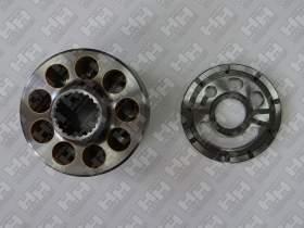 Блок поршней c распределительной плитой для экскаватор гусеничный KOMATSU PC220-8 (708-2L-06470, 708-2L-06480)