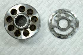 Блок поршней c распределительной плитой для гусеничный экскаватор KOMATSU PC350-7 (708-2G-04143, 708-2G-04141, 708-2G-04153, 708-2G-04151)