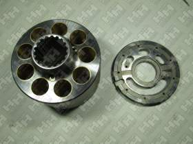 Блок поршней c распределительной плитой для экскаватор гусеничный KOMATSU PC450-8 (708-2H-04760, 708-2H-04750)